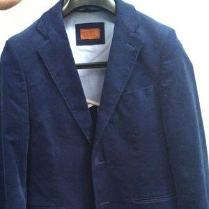 Gianni Ferraud Blue Corduroy Blazer 38